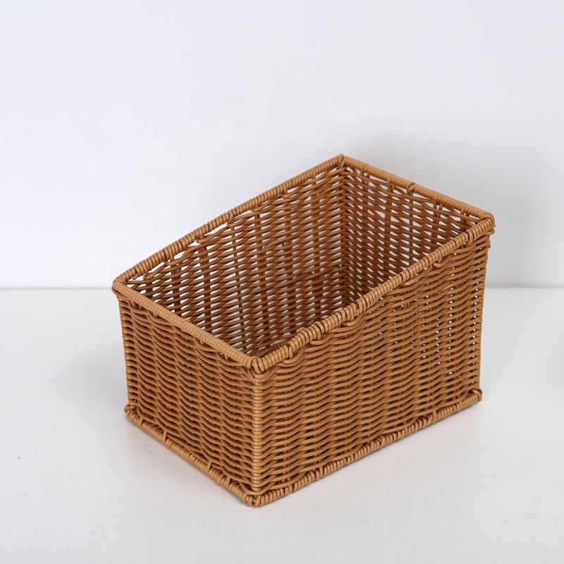 PP Wicker Rattan Kids' Storage Basket