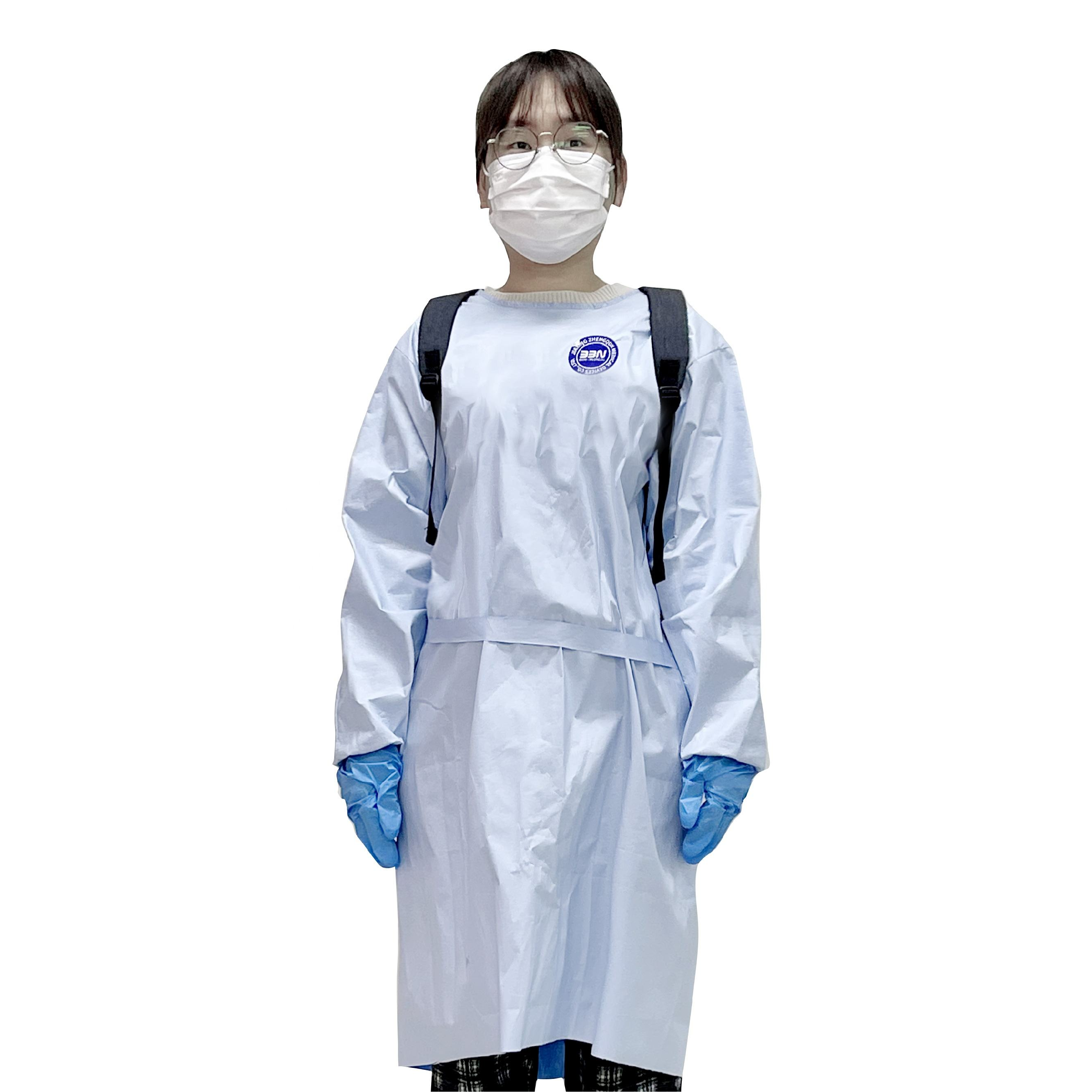 BBN Medical High Quality Children Protective Clothing in School Disposable Children Medical Face shield Hand Protection