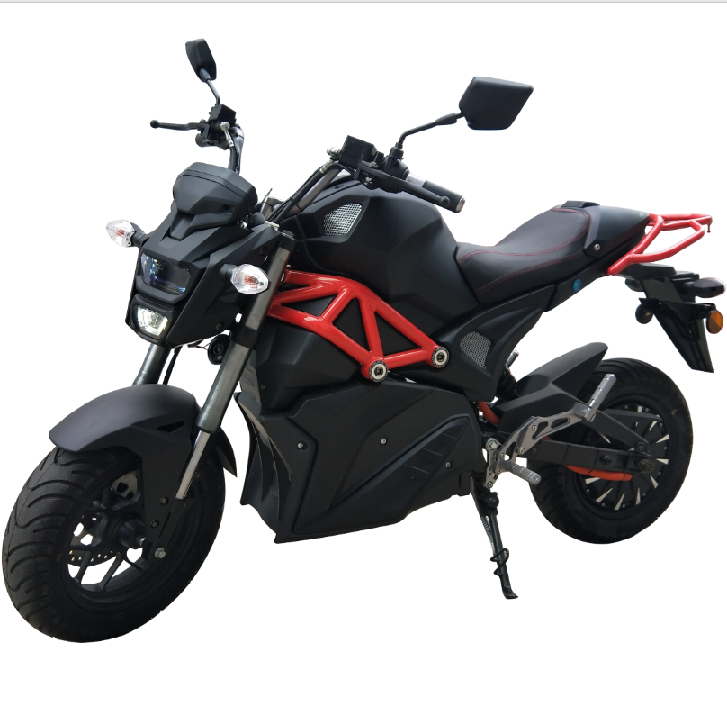 E-mark available 2000w~5000w 72V 32AH/50AH Sports Electric Motorcycle with EEC
