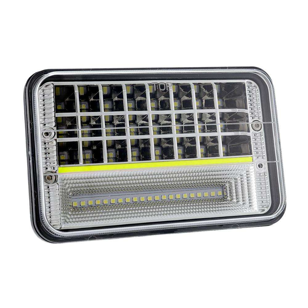 hilo beam 135 w 4x6 inch seal beam headlight 12 month Warranty and 12v Voltage led light truck