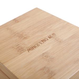 Unique design bamboo 1 slots Watch box watch packaging gift box packaging box for watch