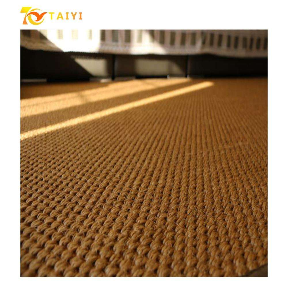 China Customized Size Sofa Natural Jute Sisal Carpets Rolls And Rugs Living Room Diamond Scratch Carpet Cat Sisal Mat