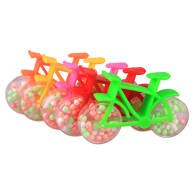 China Toys Factory 2020 Wholesale Cheap Mini Bike Shape Candy Toys For Kids
