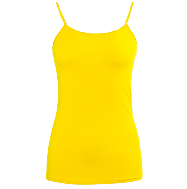 Wholesale solid color spandex cotton vest tops women sexy girls sleeveless long camisole tops