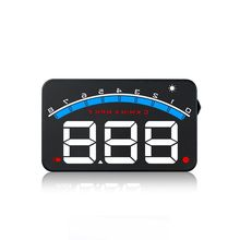 3.5 Inch OBD2 Digital Speedometer GPS Head Up Display Odometer  MPH/KMH Over Speed Alarm Buzz M6