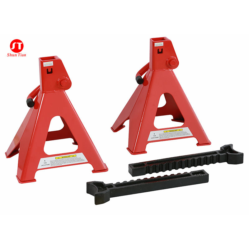 1 Pair 2 Ton Capacity Adjustable Height Car Jack Stand Safety Tools Car Jack Auto Stands