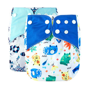 New Design Baby Reusable Washable Pocket Cloth Diapers Nappy With Insert