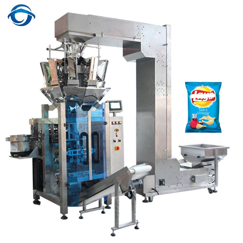 Multi-function Automatic Fried Snack Food Packing Machine Packaging