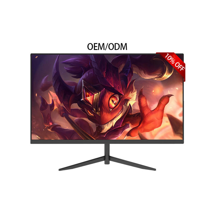 "Factory! Cheap LED LCD Monitor Wholesale 24"" flat Screen for Computer Game 24"" Desktop PC Monitor"