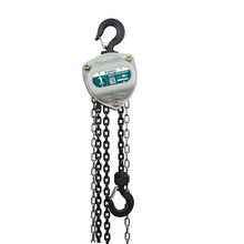 TOYO KII Factory Price Hand 100kg Chain Hoist Chain Pulley Block