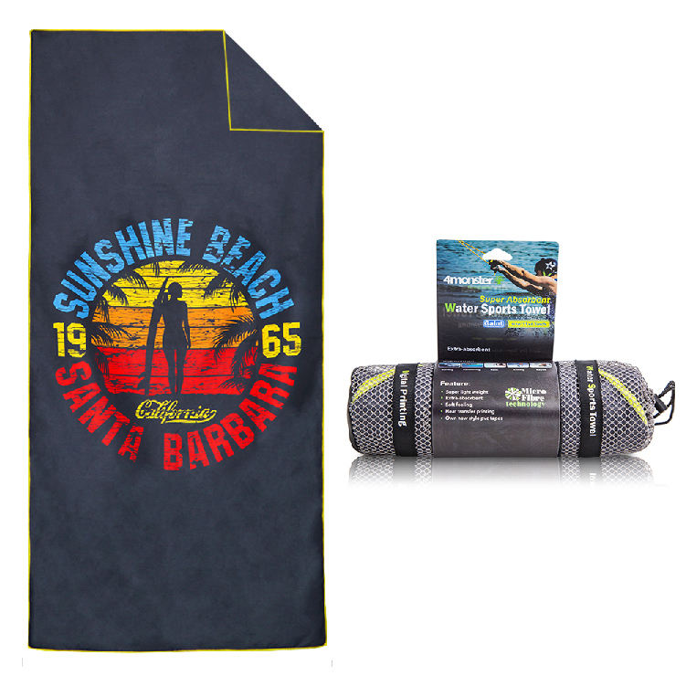 beach towels printed or unprinted styles personalized outdoor travel towel