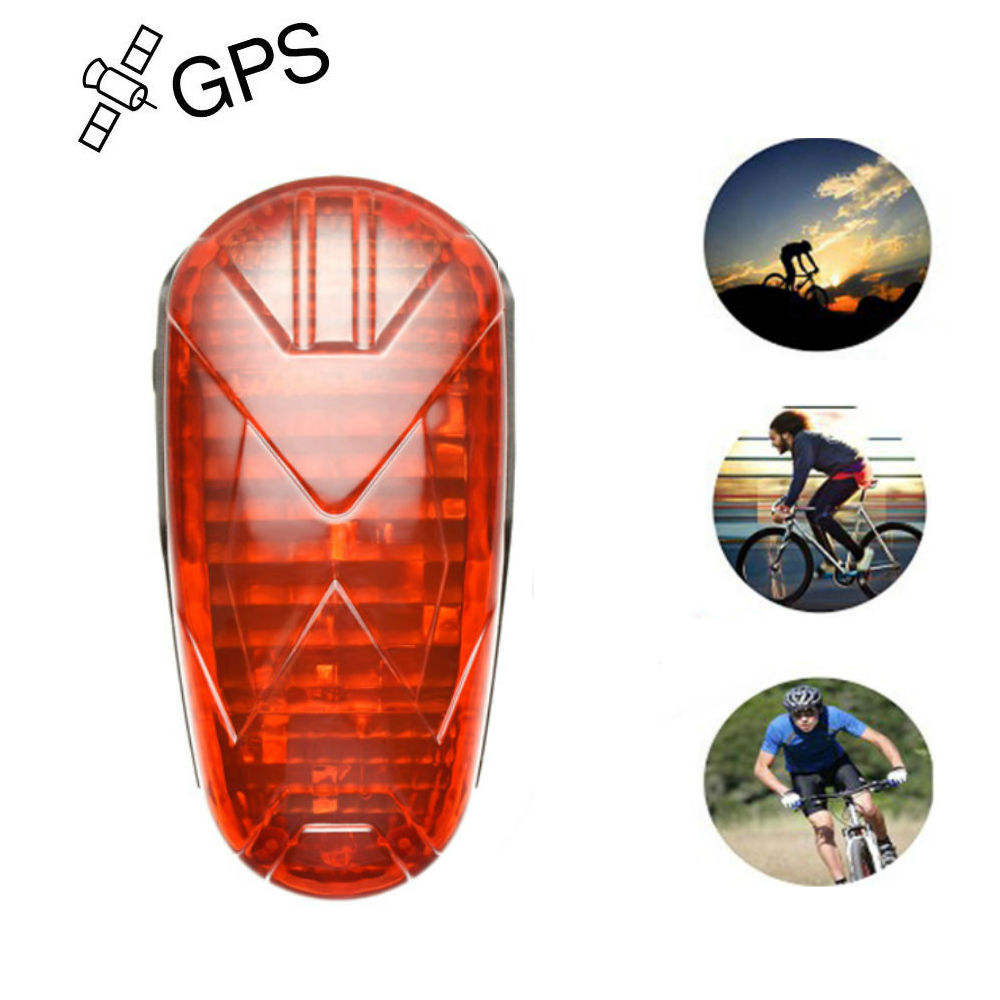 Real-time tracking motorcycle/wheelchair/car/bike waterproof gps tracker TK906 with hidden led light
