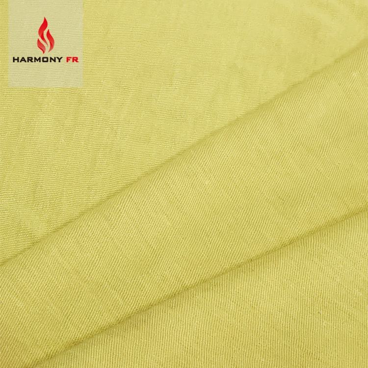 Flame Resistant 100% Para Aramid Knitted Fabric