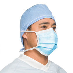 Ready to Ship Disposable Medical 3 ply Non Woven Mask TIE ON TYPE IIR Surgical Disposable Face Mask