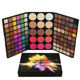 Waterproof Eye Shadows Eye Vanelc 123 Color Eyeshadow Palette Christmas Makeup Look Highly Pigmented Cosmetic Eye Shadows