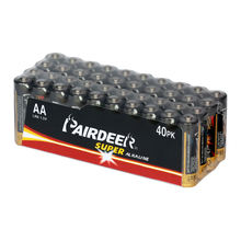 PAIRDEER private label aaa lr6 am4 alkaline battery 1.5v