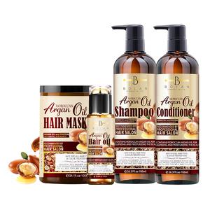 Cheap Anti Hair Loss Collagen Moisturizing Hair Argan Oil Black Hair Shampoo
