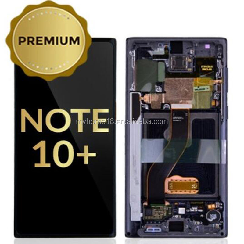OEM Quality Galaxy Note 10 Plus LCD Digitizer Screen Touch Assembly Display Replacement Part for Samsung Note 10