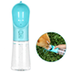 DOKA Portable Pet Water Bottle with Activated Carbon Filter Leak Proof Dog Water Dispenser