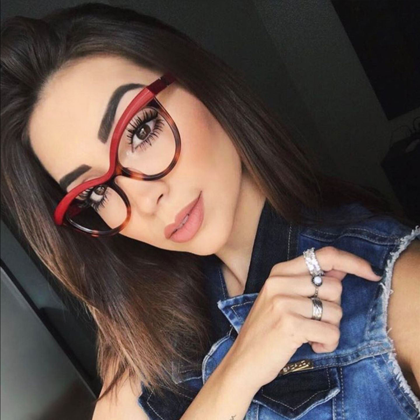Hot Sale Woman Fashion Amber color matching Optical Glasses Frames Eyewear Custom Made Eyeglass Frames 20