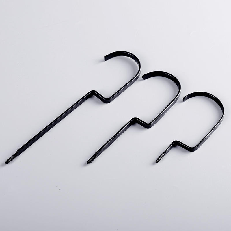 Various model size wood hanger Metal garment Hooks For Clothes Hanger