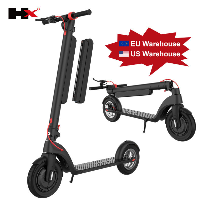 Original kick scooters 12 AH 10AH Battery removable 8.5 inch 10 inch 700w Motor 45KM Range HX X7 X8 foldable electric Scooter