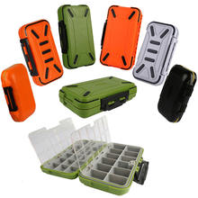 Peche Hot Sale Waterproof Fishing Lure Storage Case Double Side Sea Boat Distance Carp Fly Tackle Box