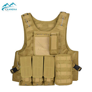Wholesale Police Army Tactico Militar Security Airsoft Molle Military Tactical Safety Vest