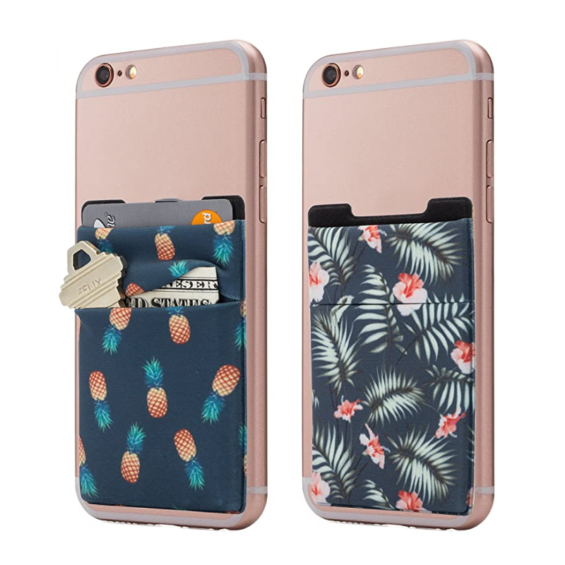 In Stock Cell Phone Card Holder Wallet Business Card Pocket Sleeve Sticker for Iphone