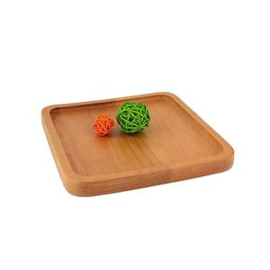 Beech Wood Joint Square Hotel Chips Plate Small Fruit Serving Tray