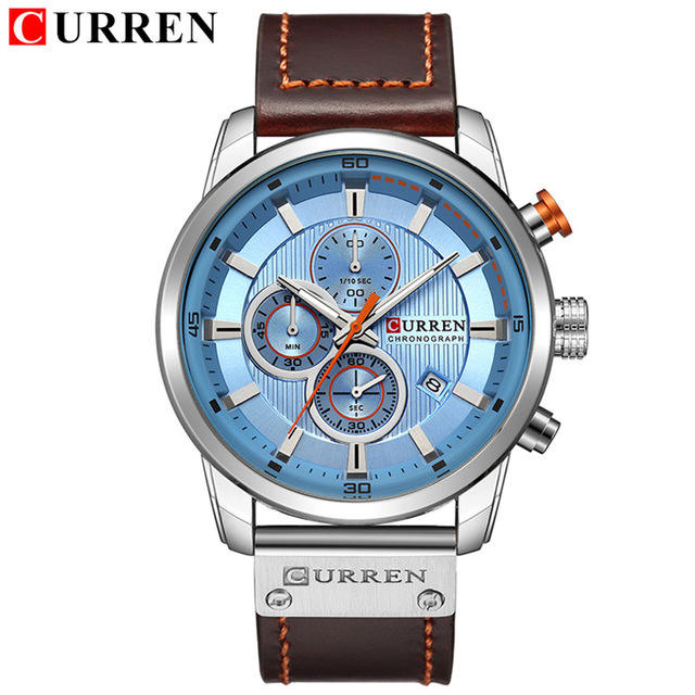 Factory Price Man Wrist Quartz Curren 8291 watches