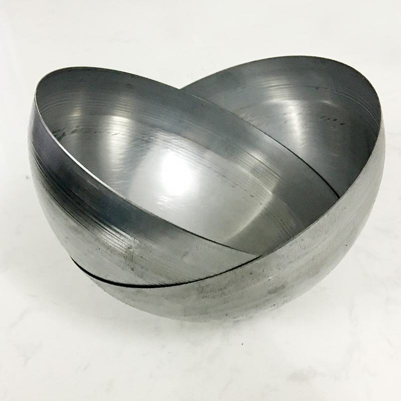 600mm 700mm 900mm 1000mm 1200mm Aluminum Half Sphere with Hole in Stock