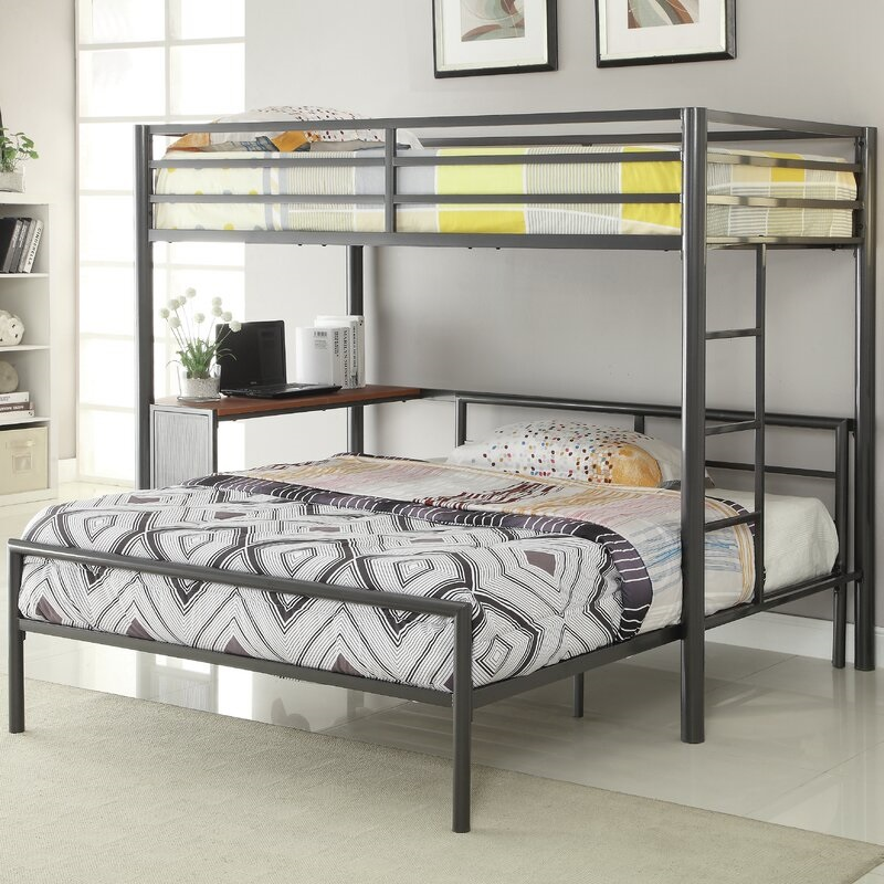 Bunk Bed Frame Steel Frame Kids Bunk Bed Kid Beds With Staris And Desk For Girl And Boys