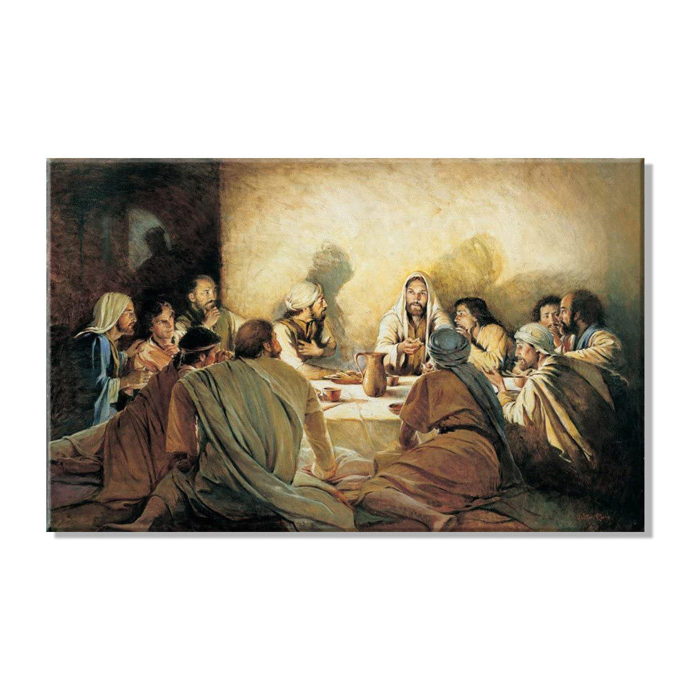 Christian Print Painting Twelve Apostles Canvas Wall Art Home Decoration