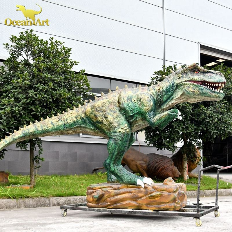 Adventure Theme Amusement Park Tyrannosaurus rex dino Model Animated Artificial Moving Life-size 3d Dinosaurs