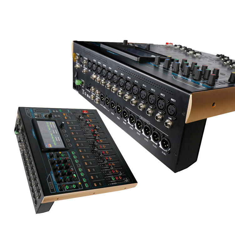 JB-DL20 Profesional + Audio % 2C + Video 20 Channel Suara Digital Mixer Studio Mixer Digital Audio Profesional