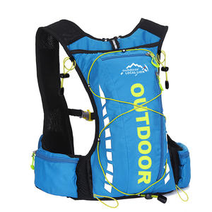 Customized new camel bag drinking backpack riding sports hydration vest backpack and water bag