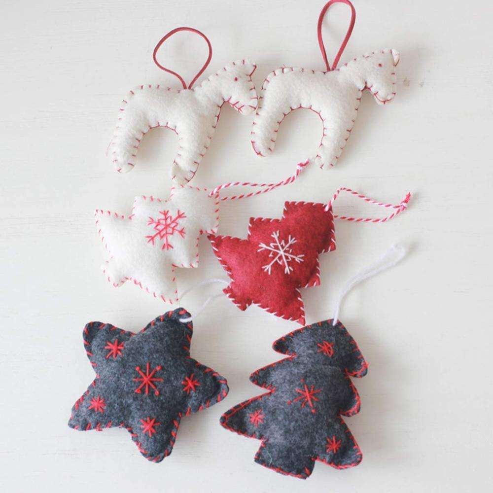 The best-selling New Year's Gift of 2020/Christmas Items, Christmas Gift, Felt Christmas Ornaments Decoration