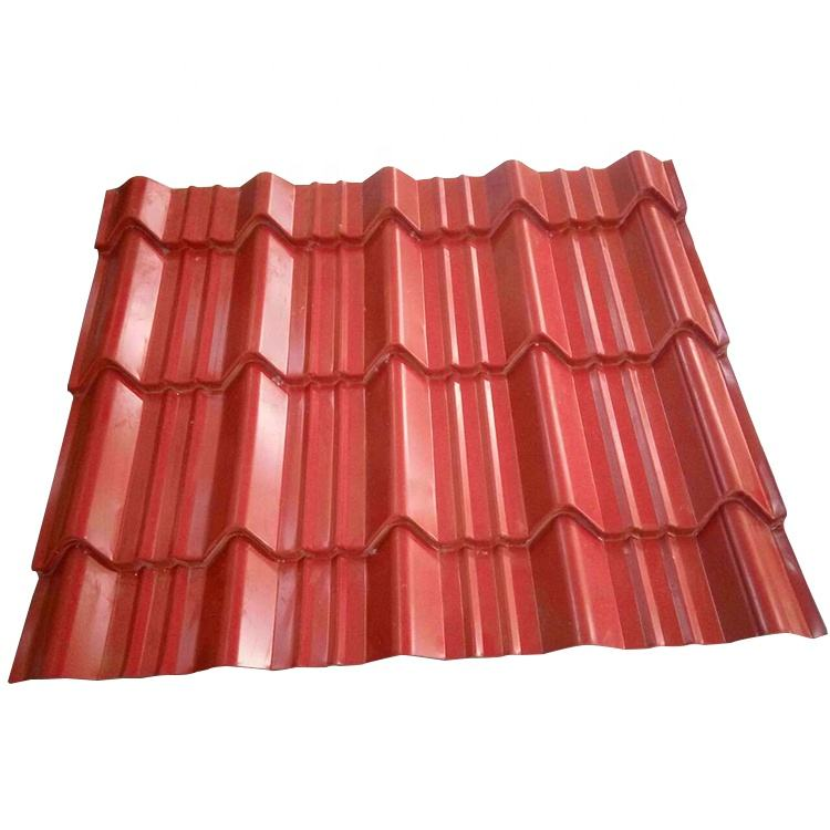 Safe and fireproof galvanized steel sheet metal roofing material