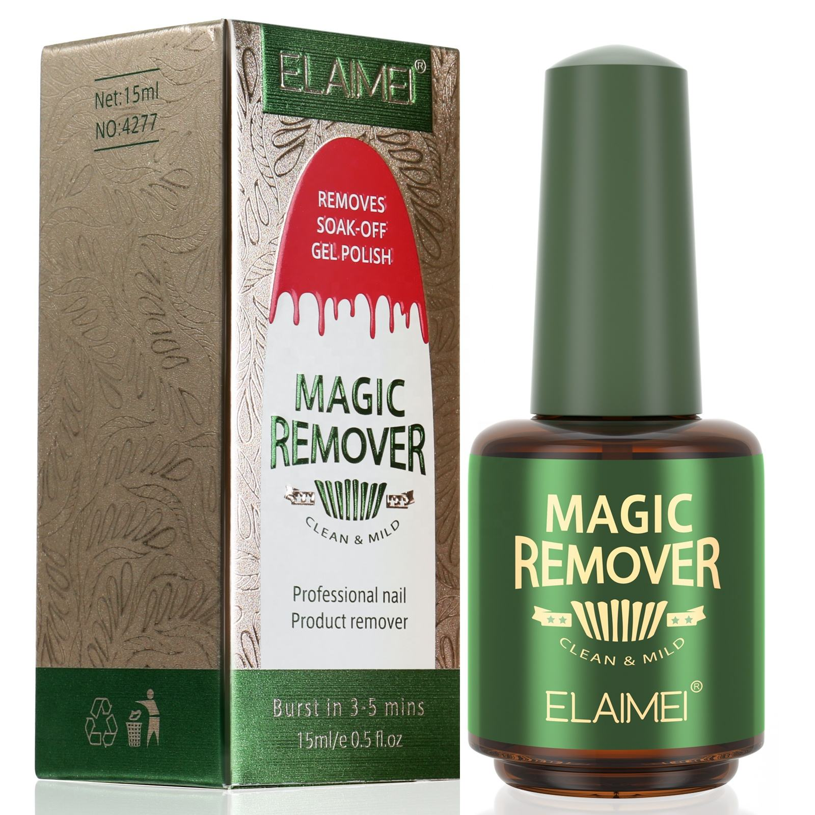 Super Popular Magic Nail Remover Cream Fast and Safe Gel Nail Polish Remover Soak off Cleaner