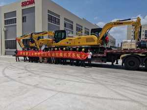 8t Grid Power china Crawler Excavator  Electric mini Excavator