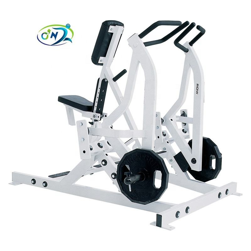 Gym & Commercial fitness equipment Hammer Strength plate loaded Iso Lateral Rowing machine