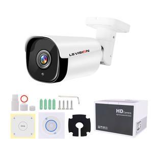 LS VISION H.265 8 Megapixel 4K Motion Detection Long Distance 100M Outdoor IP POE CCTV Bullet Security Surveillance Camera
