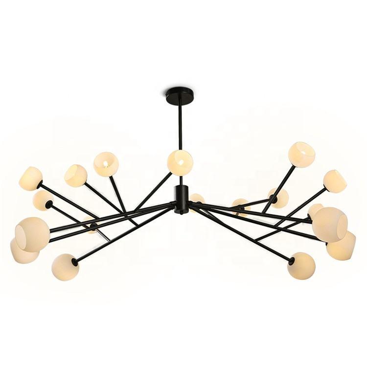 <span class=keywords><strong>Casa</strong></span> iluminación decorativa Industrial contemporánea de la forma de araña de cristal