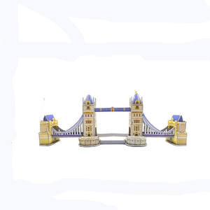 In Promotion Cash Commodity 3D Paper Puzzle 3D Architecture Scale Model Making Children's Educational Toys.