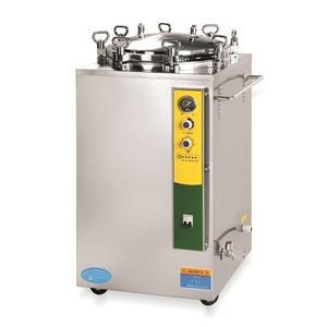 Dikey basınç temizleme Buhar Sterilizatör tıbbi makine otoklav mikrodalga