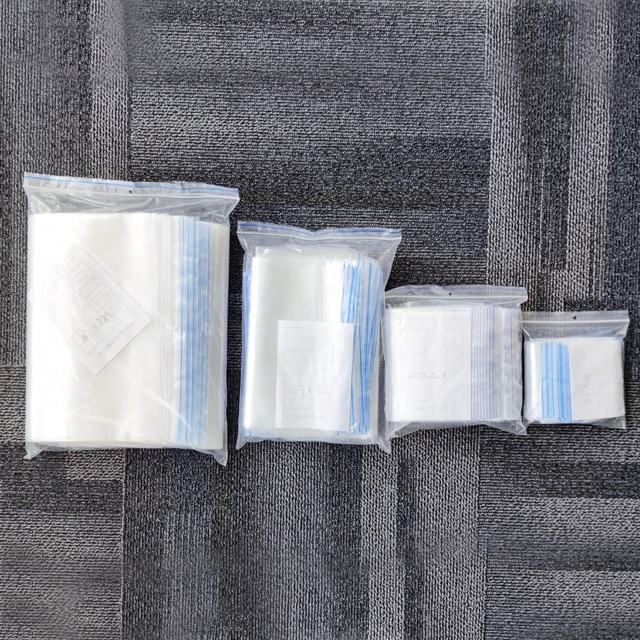 Custom Ziplock Recyclable Clear Plastic Zipper Bags
