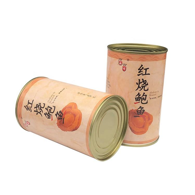 China Best Selling Various Cooking Methods Canned Abalone Instant Braised Abalone
