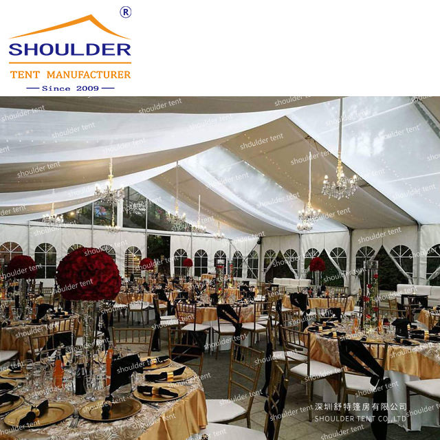 20x20 20x30 clear party events large marquee 1000 seaters wedding tent hot sale