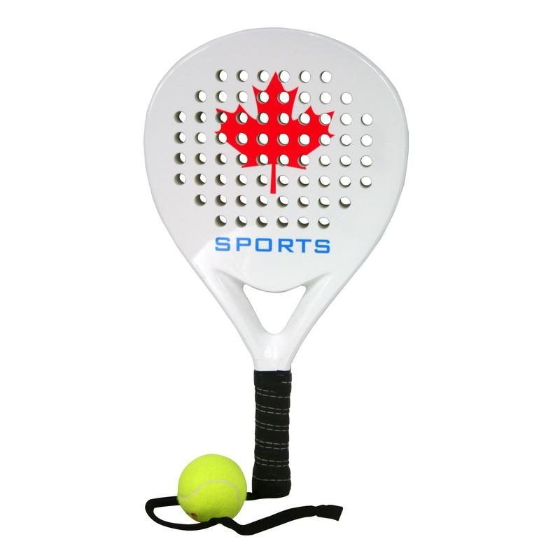 Tennis Paddle Glasvezel Power Lite Pop Eva Schuim Strand Paddle Tennis Paddleball Racket Rackets